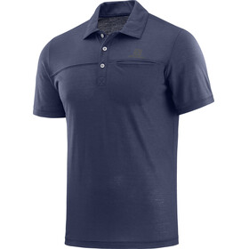Salomon Explore t-shirt Heren blauw
